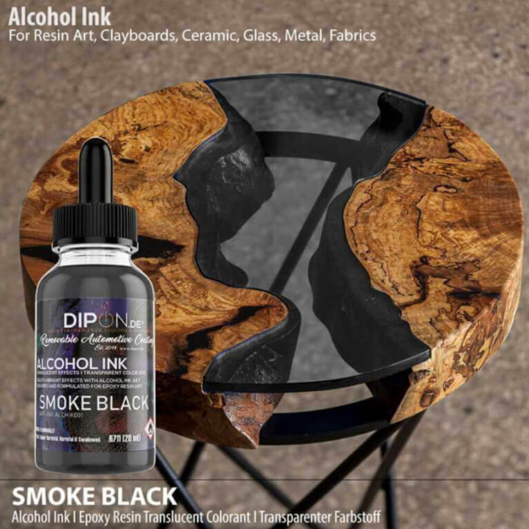 DIPON® Alkoholitint, SMOKE BLACK, must