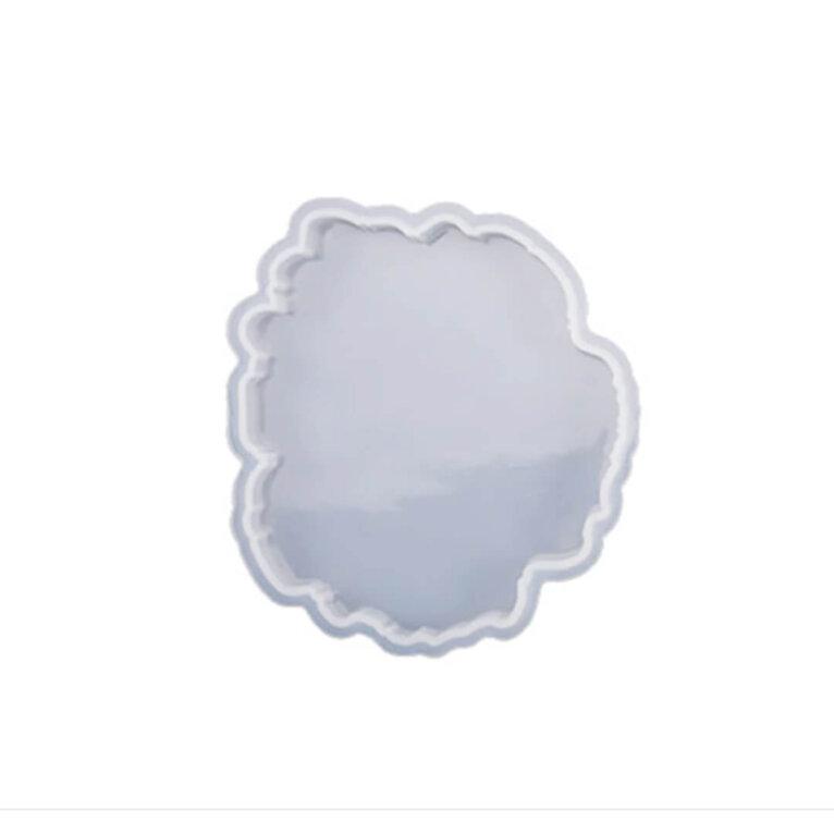 Erikujuline silikoonvorm tassi- ja klaasialuse valamiseks, 11,3 x 10 cm