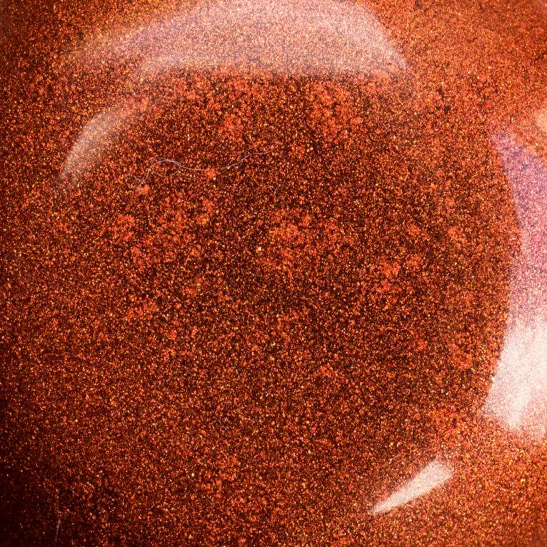 Mica pulber, Reddish Brown, 5-25g