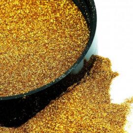 Micro helbed, holograafiline, kuld