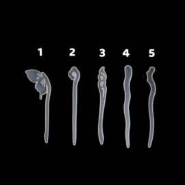 Silikoonvorm juuksenõela tegemiseks – 1