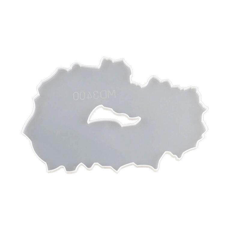 Silikoonvorm suure aluse/kandiku valamiseks, 35 x 22,5 cm