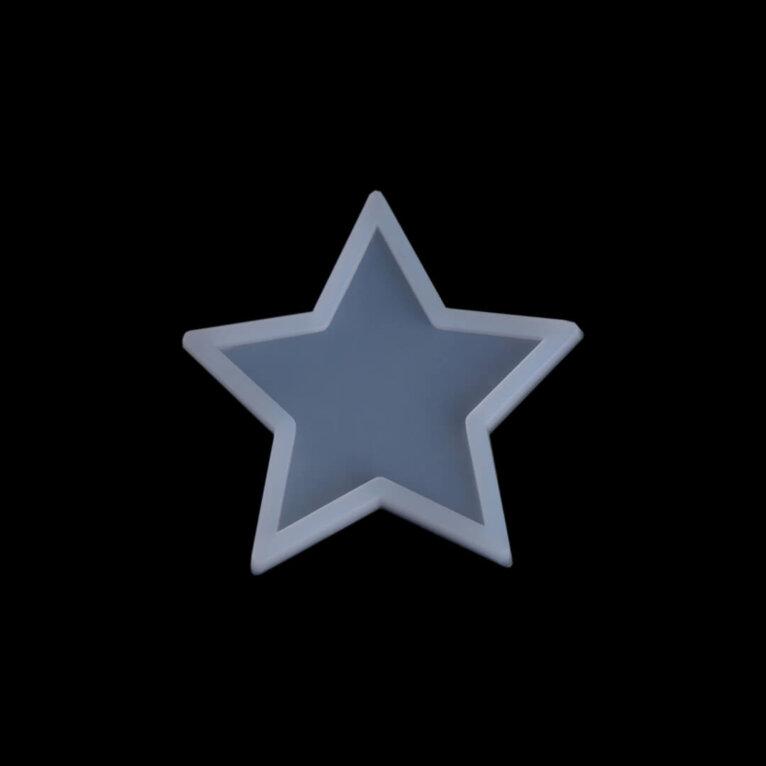 Silikoonvorm, täheke, 70 mm