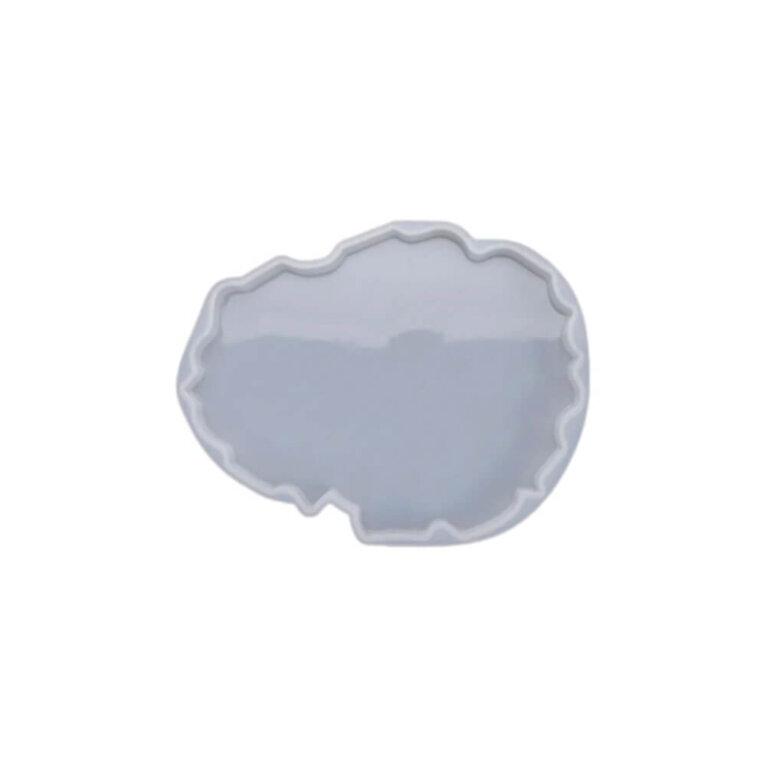 Silikoonvorm tassi või klaasialuse valamiseks, ebakorrapärane, 13 x 10,2 cm