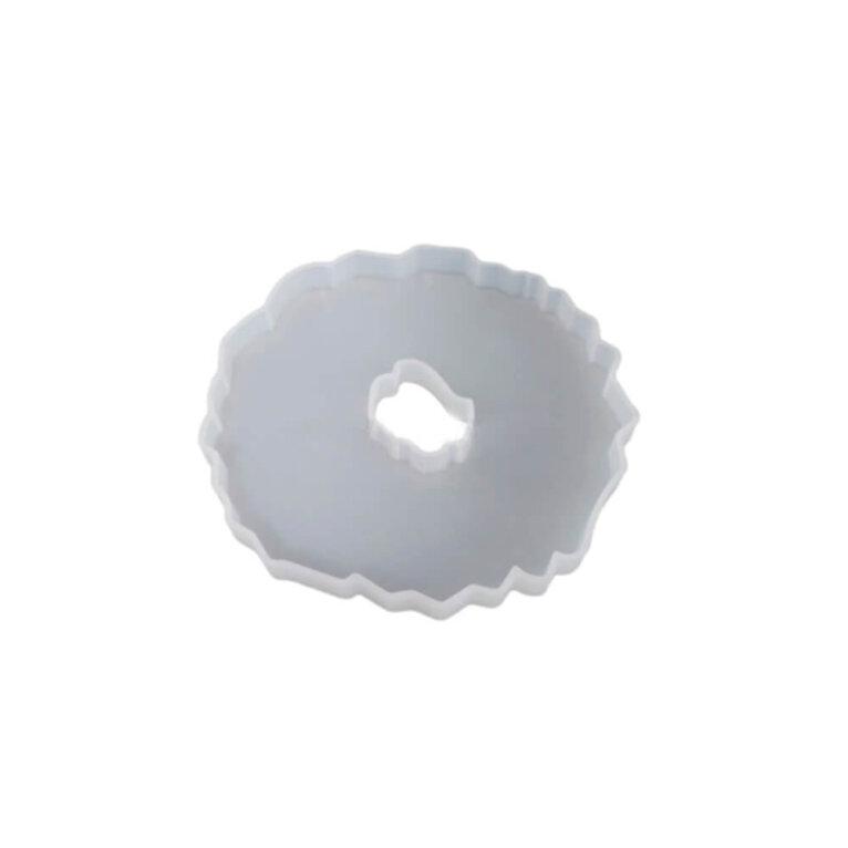 Silikoonvorm tassi või klaasialuse valamiseks, ebakorrapärane, 13 x 13 cm