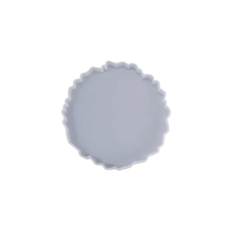 Silikoonvorm tassi või klaasialuse valamiseks, ebakorrapärane, 12,5 x 13 cm