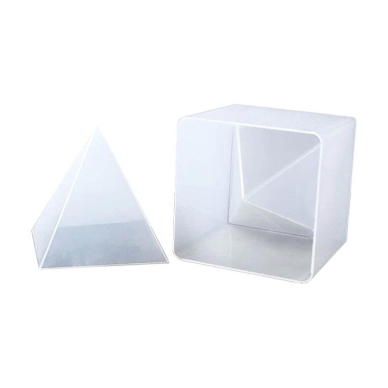 Suur, püramiidi valamise vorm, 15 x 15 cm