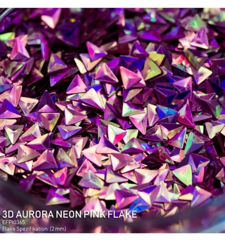 DIPON®-3D Helbed, aurora neon pink