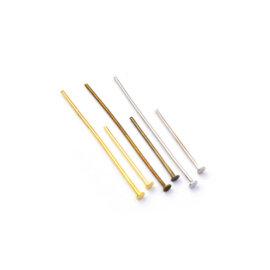 Ehtenael lameda peaga, 20-40 mm, kuldne, pronks, hõbedane