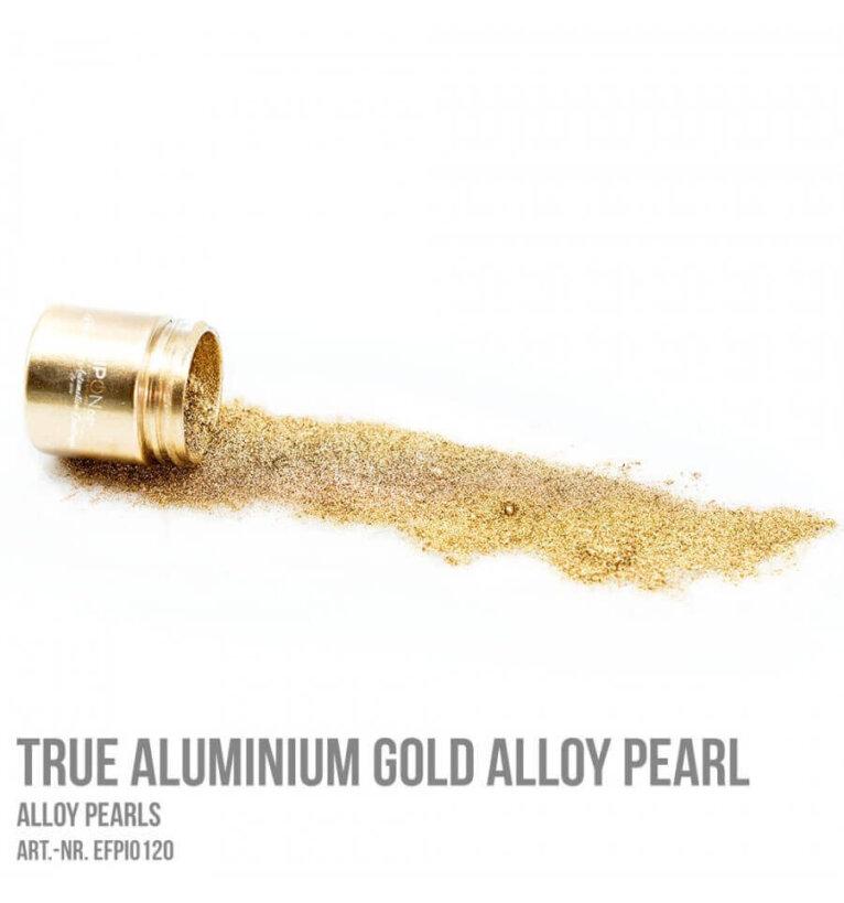 Pärlpigment, True Aluminium Gold Alloy, 5g