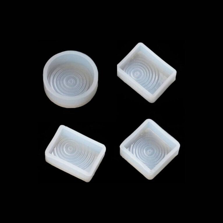 Silikoonvorm ripatsi valamiseks, veetilga efekt