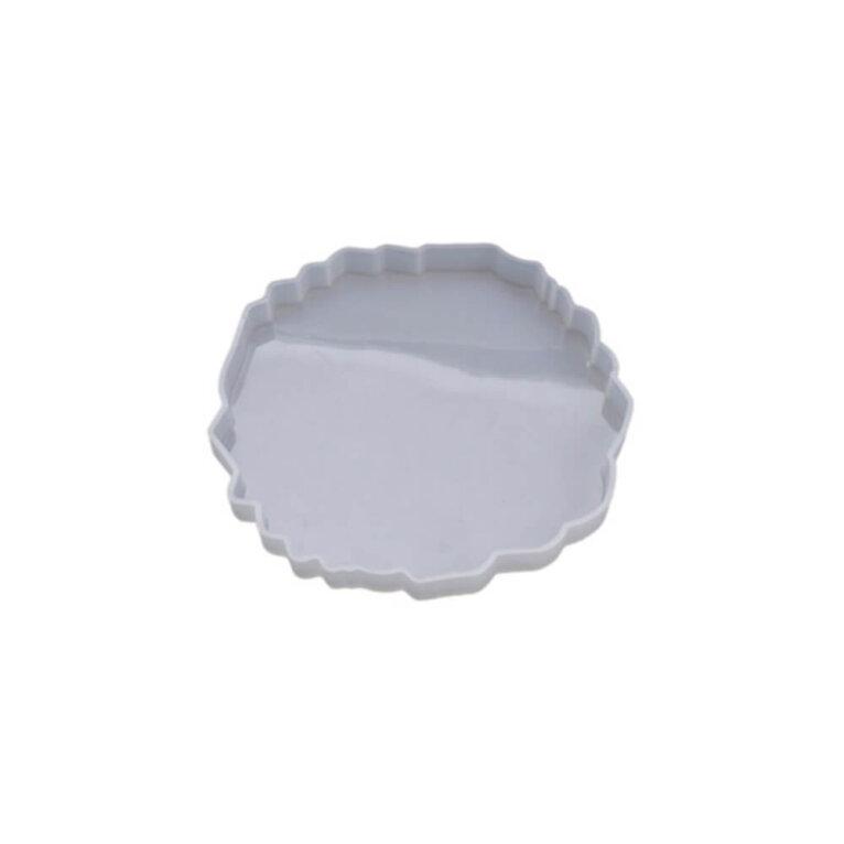 Silikoonvorm tassi või klaasialuse valamiseks, ebakorrapärane, 13 x 12,5 cm