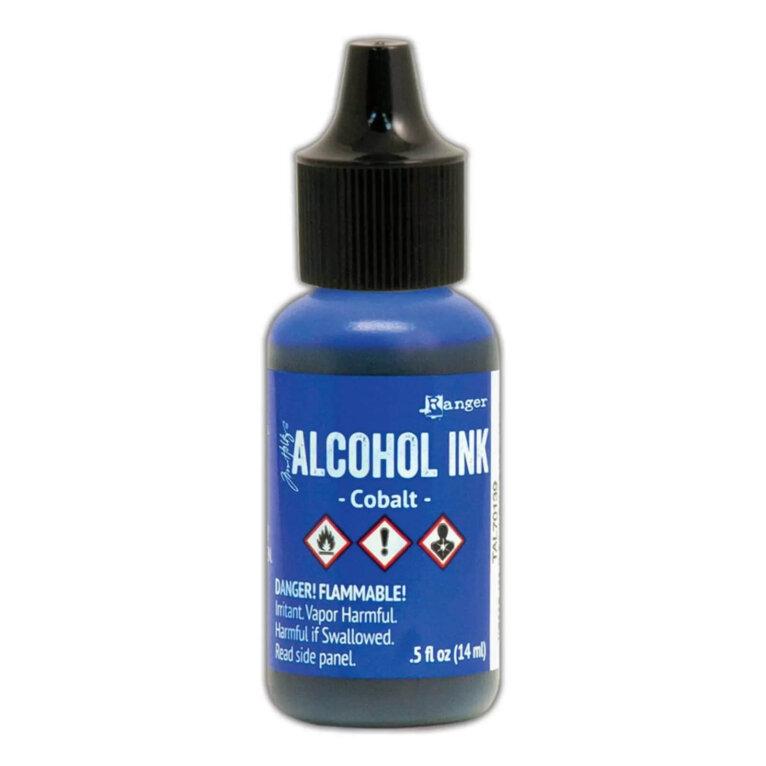 Tim Holtz® Alcohol Ink Cobalt, sinine alkoholitint