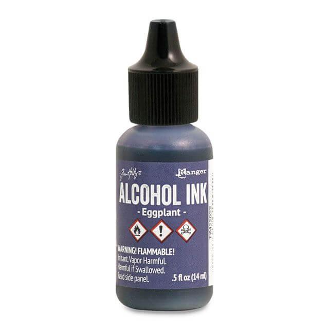 Tim Holtz® Alcohol Ink Eggplant, lilla alkoholitint