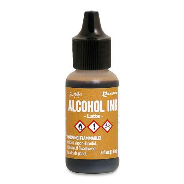 Tim Holtz® Alcohol Ink Latte, pruun alkoholitint