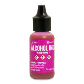 Tim Holtz® Alcohol Ink Raspberry, roosa alkoholitint