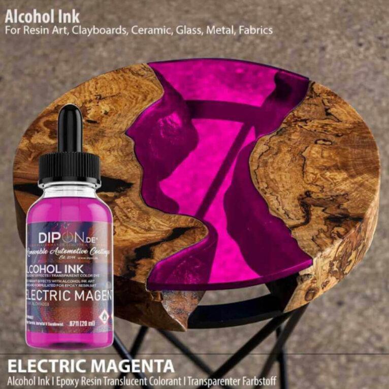 Alkoholitint, ELECTRIC MAGENTA, roosa