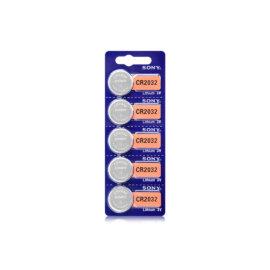 Patareid SONY CR2032 Lithium 3V, 5 tk