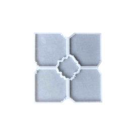 Silikoonvorm klaasialuste komplekti valamiseks, 5-osaline