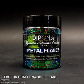 DIPON®-3D Helbed, Color Bomb Triangle