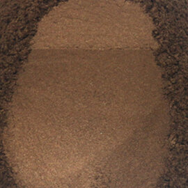 Mica pigmentpulber, pruun