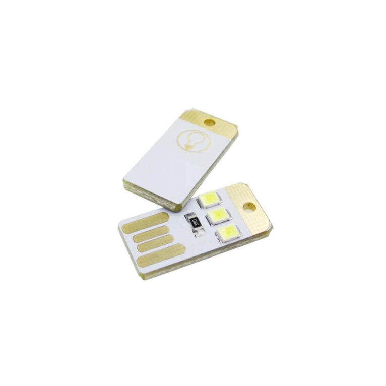 Mini LED valgusti, USB ühendusega, 24 x 12 mm