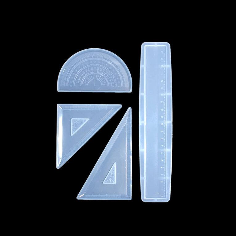 Silikoonvorm joonlaud, mall ja kolmnurk – 1