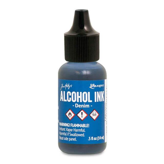 Tim Holtz® Alcohol Ink Denim, sinine alkoholitint