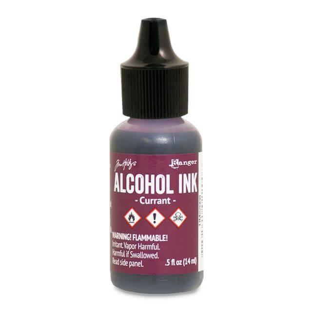 Tim Holtz® Alcohol Ink Currant, lilla alkoholitint