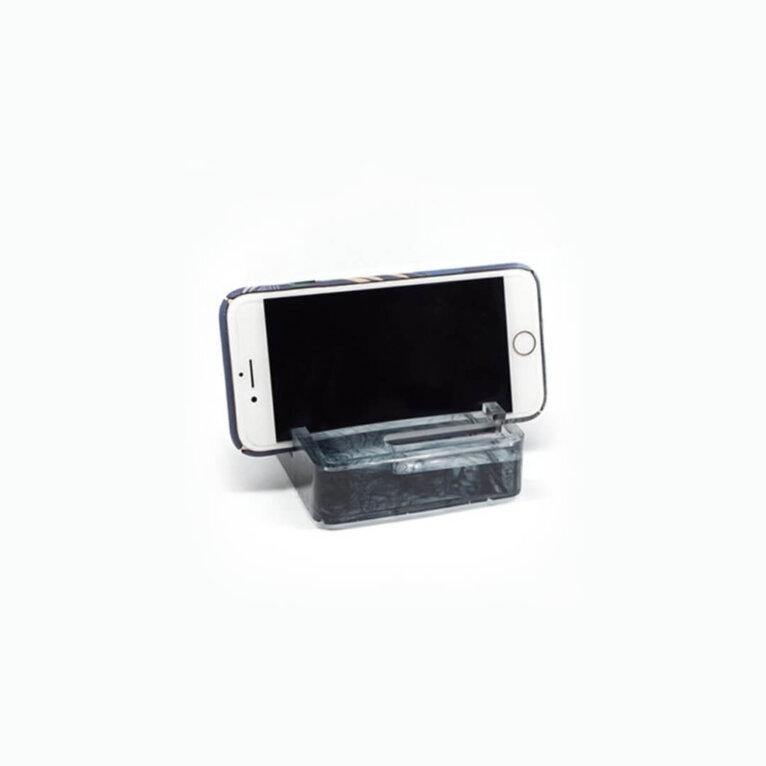 Visiitkaardihoidja ja mobiilihoidja valamise silikoonvorm