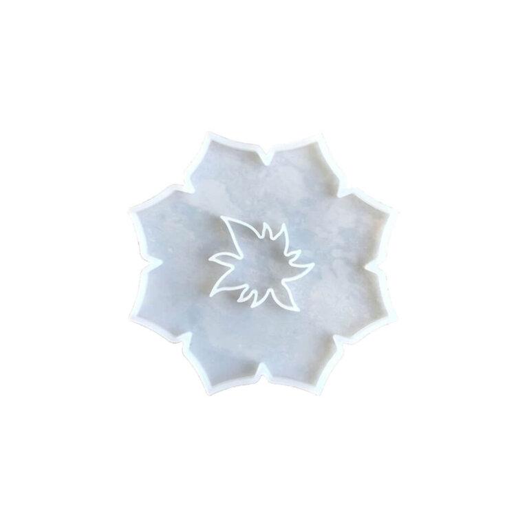 Lillekujuline silikoonvorm