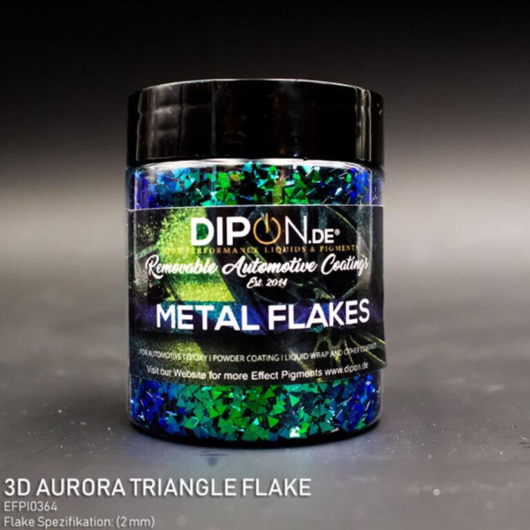 DIPON®-3D Helbed, AURORA TRIANGLE, roheline