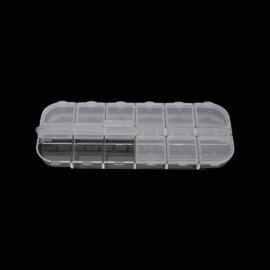 Hoiukarp, 12 lahtrit, läbipaistev plastik
