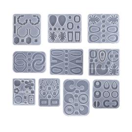 Kõrvarõngaste valmistamise silikoonvormid