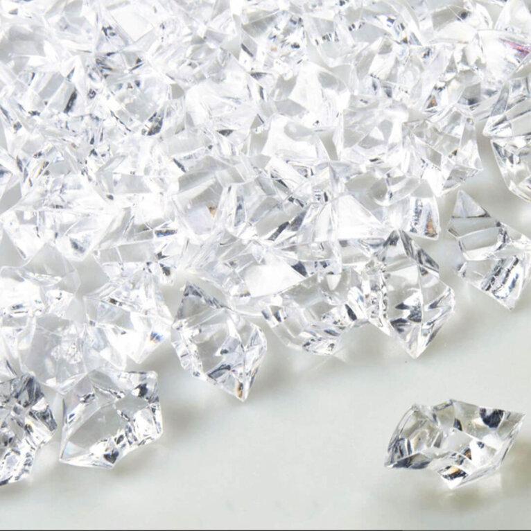 Läbipaistvad ebakorrapärased kristallkivid