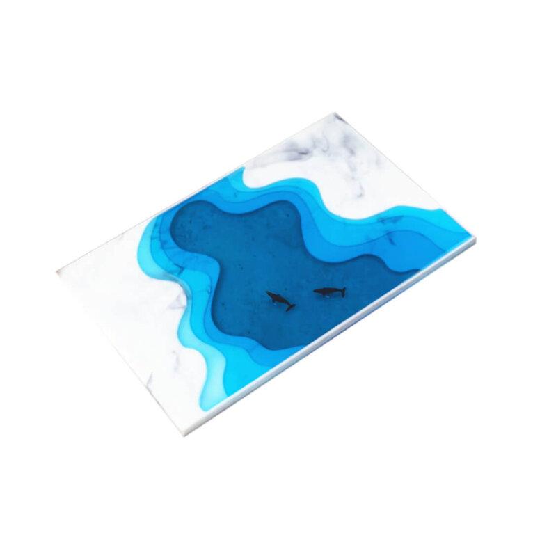 Mereteemalise serveerimisaluse silikoonvorm