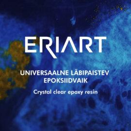 Universaalne läbipaistev ERIART epoksiidvaik + kõvendi, 2 cm