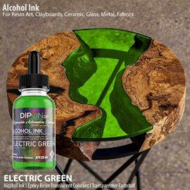 Alkoholitint DIPON®, ELECTRIC GREEN, roheline