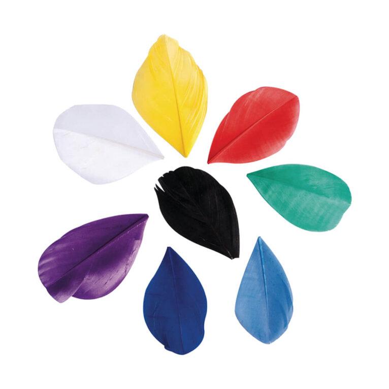 Dekoratiivsuled, lõigatud, 5-6cm, 36tk, värvivalik