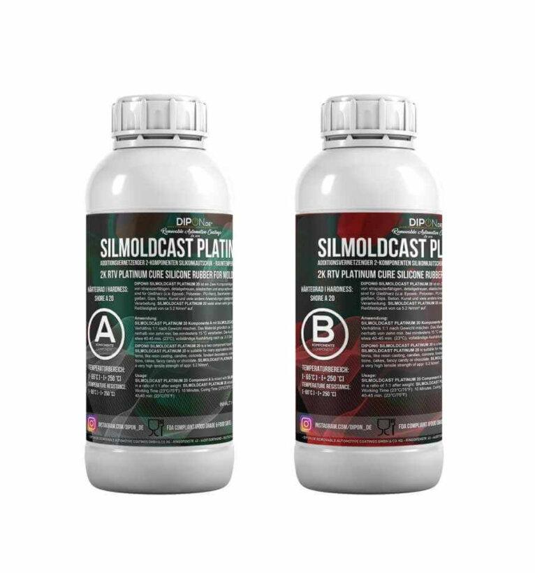 DIPON® SILMOLDCAST PLATINUM 20, 2K Silikoon vormide valmistamiseks