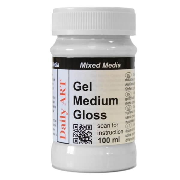 Gel Medium, Gloss