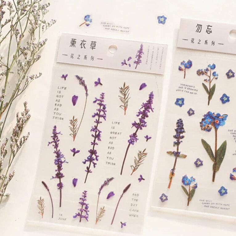 Kleebised, erinevad taimed ja lilled