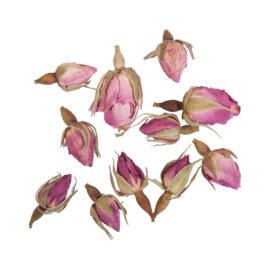 Kuivatatud roosi õienupud, 7g, seebi dekoratsioon