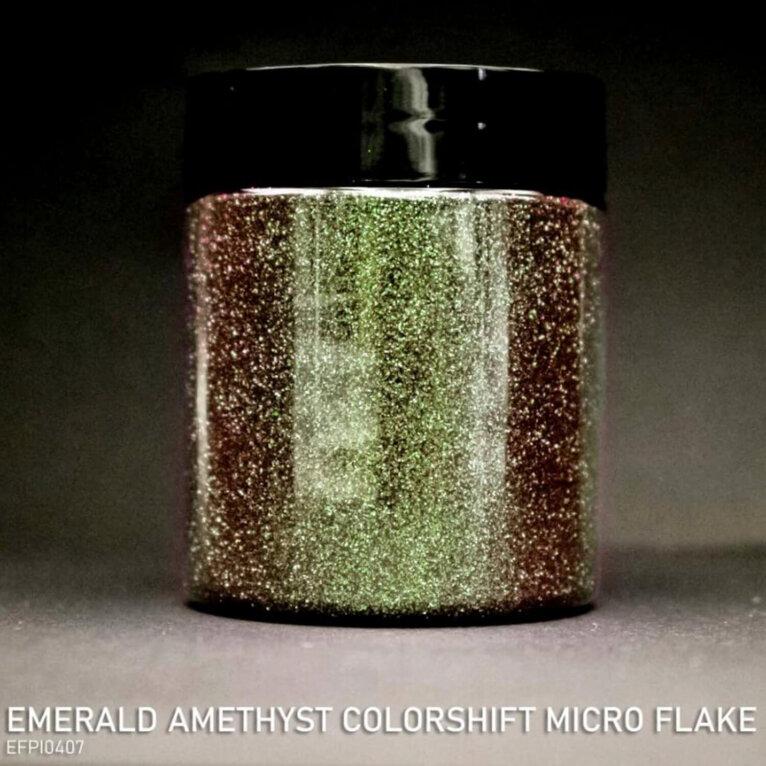 Micro helbed, EMERALD AMETHYST COLORSHIFT, mitmevärvilised