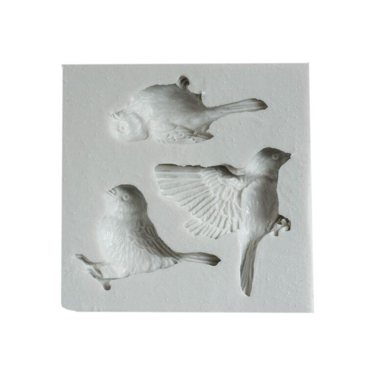 Silikoonvorm, linnud