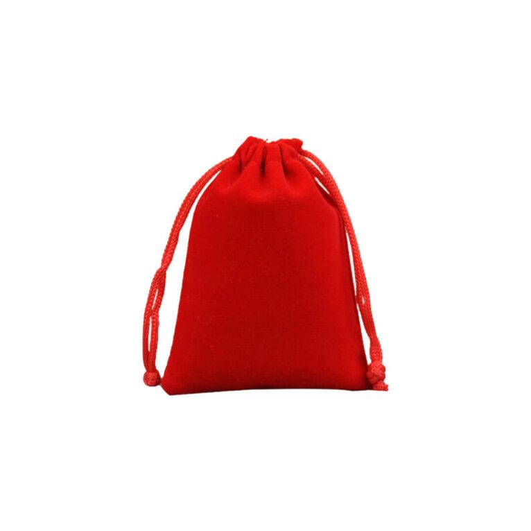 Kinkekott, 5x7cm, punane