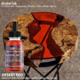 Alkoholitint, DESERT RED, punane