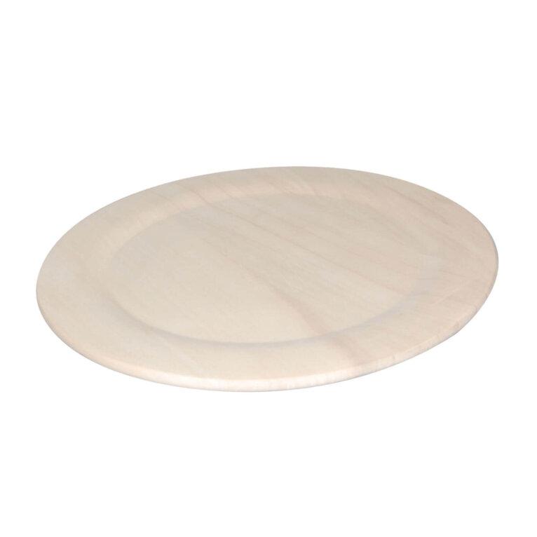 Puidust taldrik, 35cm