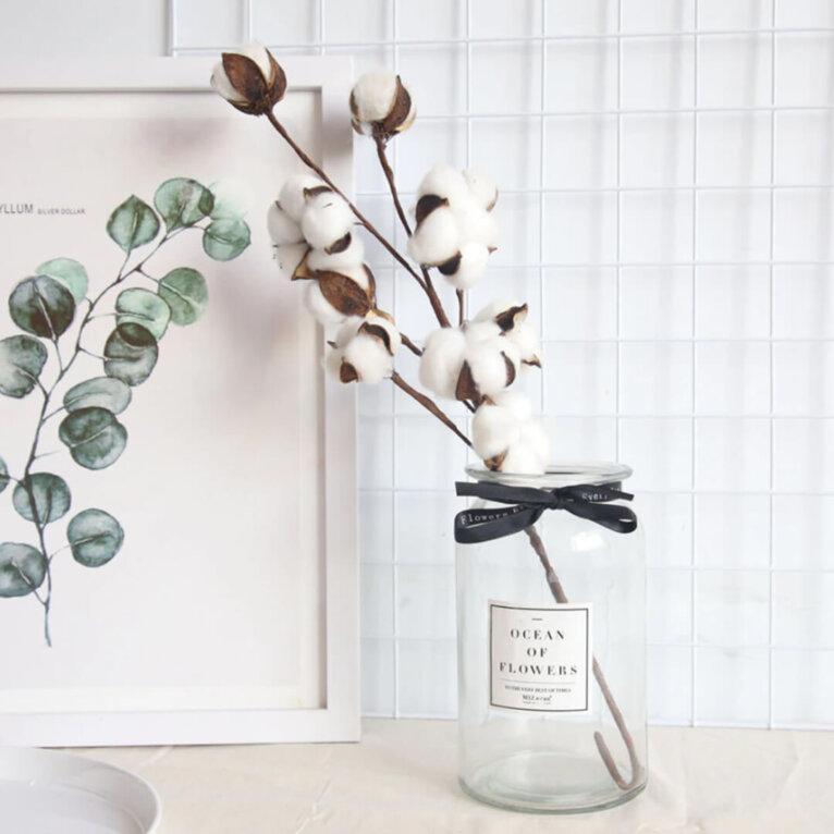 Puuvilla oks (cotton flower)