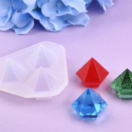 Teemanti valamise silikoonvorm
